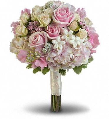 Pink Rose Splendor Bouquet