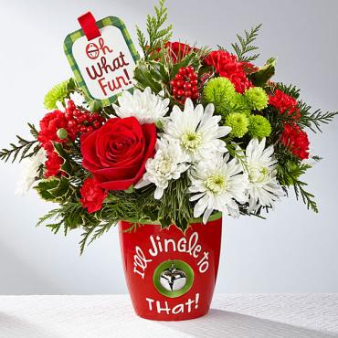 The I'll Jingle to That™ Bouquet by Hallmark