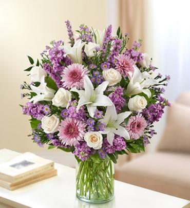 Ultimate Elegance - Lavender and White