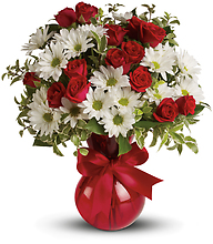 Red White And You Bouquet