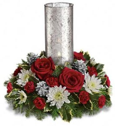 Let\'s Be Merry Centerpiece